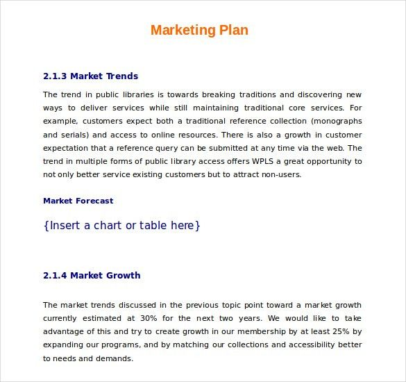 15+ Microsoft Word Marketing Plan Templates | Free & Premium Templates