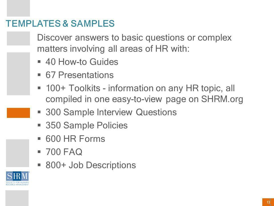 The Solution is SHRM Dianna Gould, SPHR, CAE April ppt download