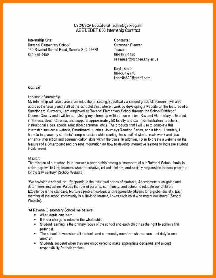 Scholarship Contract Template. Student Agreement Contract Sample ...