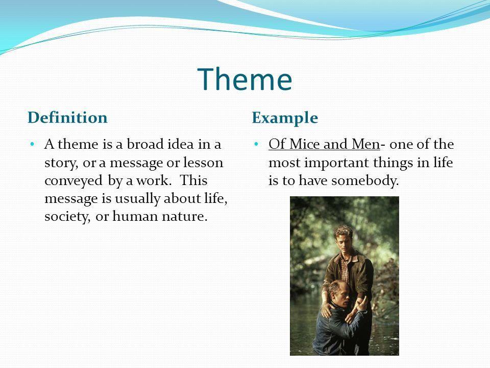 theme definition literature example arşivleri - theme definition