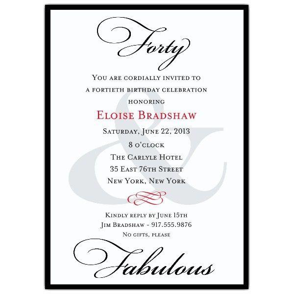 80Th Birthday Invitation Wording | badbrya.com
