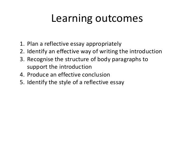how to write a reflection essay Writing a reflection paper traditional essays and reports because it asks students to be purposeful and engaged participants, readers, and thinkers.