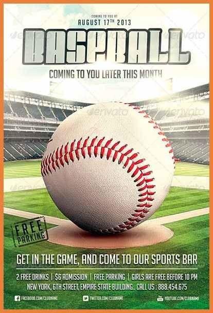 Flyers For Flyer For Baseball   www.gooflyers.com