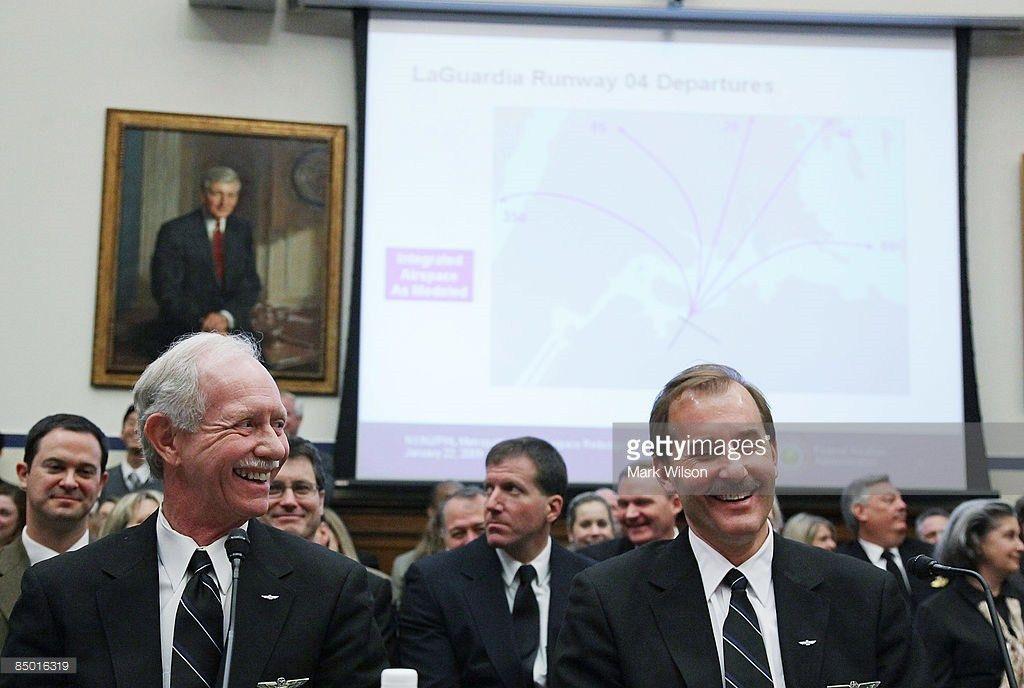 Crew Of US Airways Flights 1549 Testify Before House ...