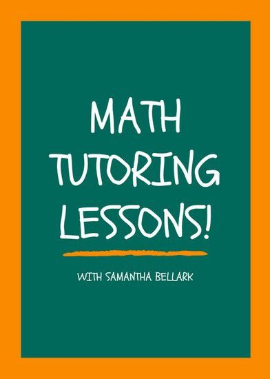 Math Tutor Flyer Template. tutor flyer template free images math ...