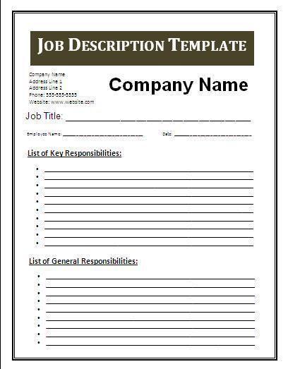 Best 25+ Job description ideas on Pinterest | Resume skills ...