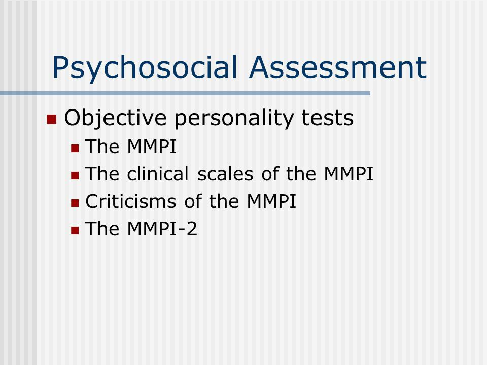 Psychosocial Assessment. Purposes Of Psychosocial Assessment ...