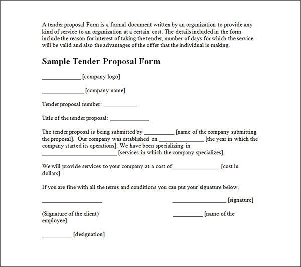 19+ Contractor Proposal Template | 7 How To Write Proposal ...