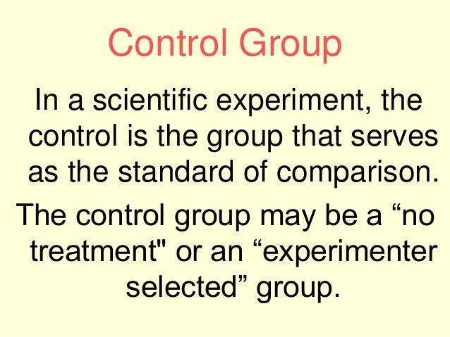 Variables and control