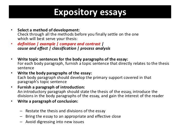 examples of good expository essays