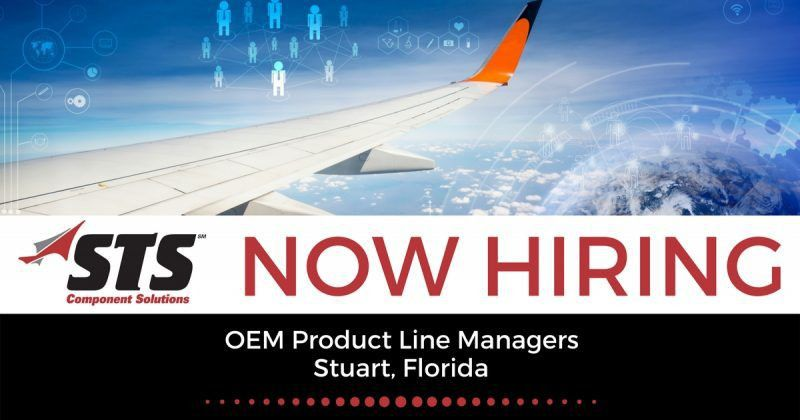STS is Now Offering OEM Product Line Manager Jobs in Stuart, Florida