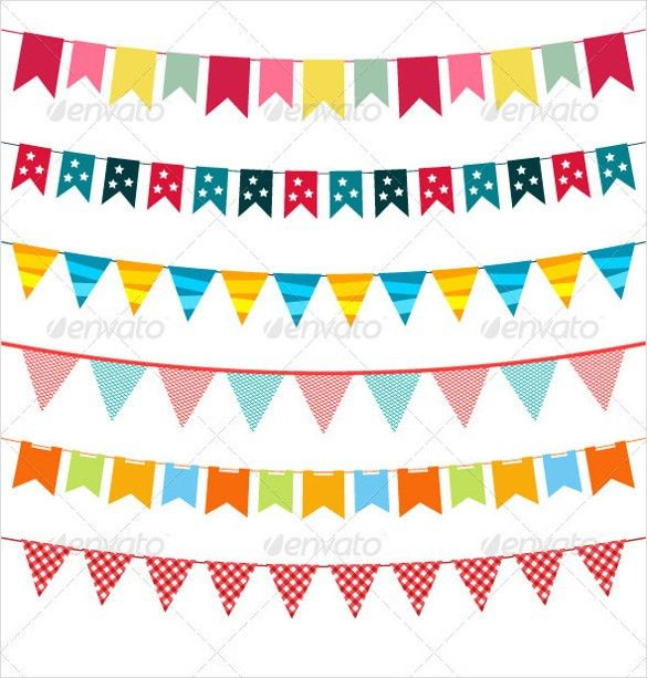 15+ Pennant Banner Templates – Free Sample, Example, Format ...