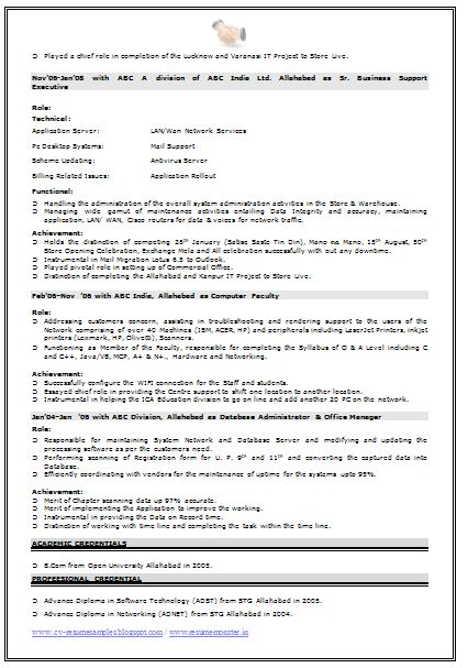 Excellent Computer Hardware And Networking Engineer Resume 29 With ...