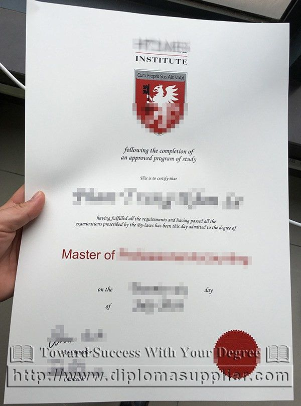 Holmes Institute degree, Holmes Institute certificate, Holmes ...