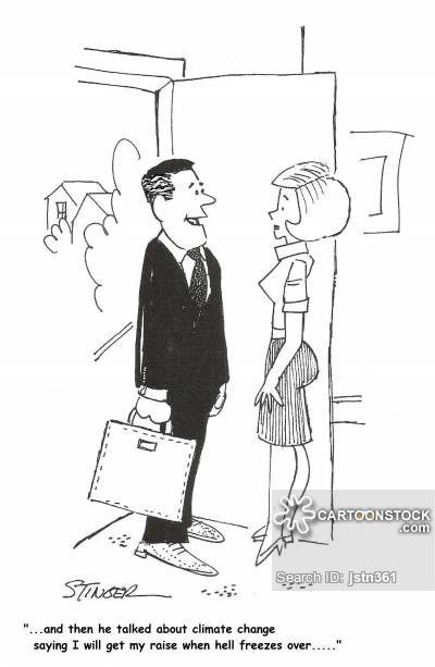 Salary Increase Cartoons and Comics - funny pictures from CartoonStock