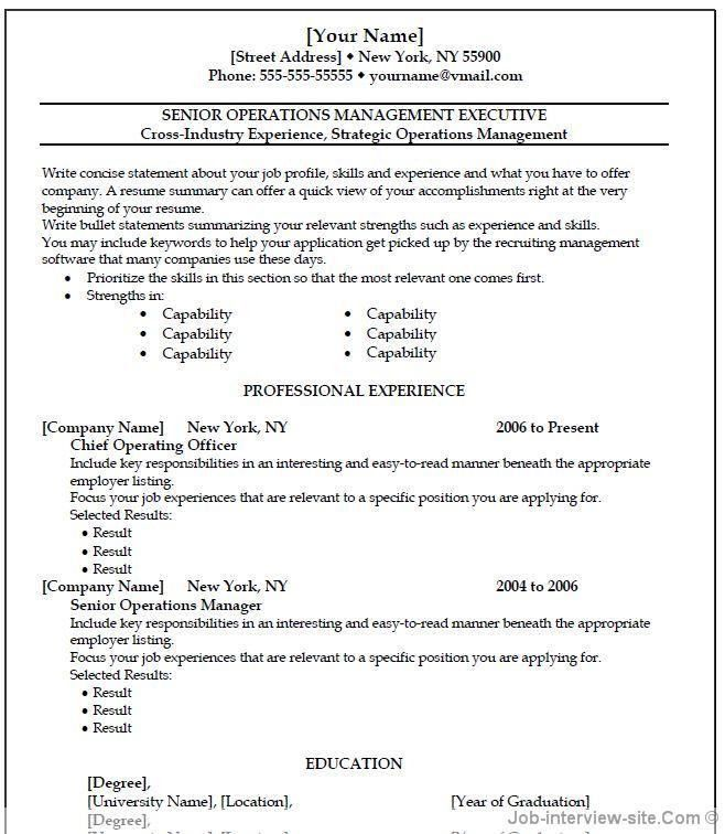 basic resume templates free template. free creative resume builder ...