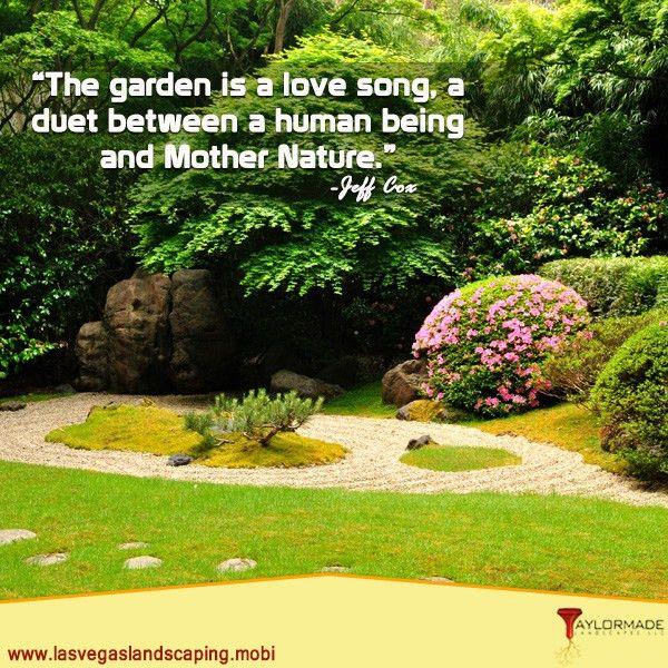 landscaper #LandscapeInstallation #summerlin | Motivational Quotes ...