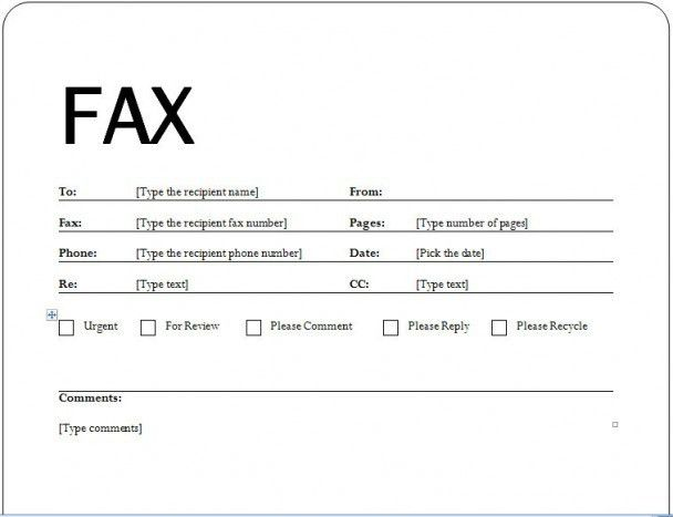 Examples Of Fax Cover Letters - uxhandy.com