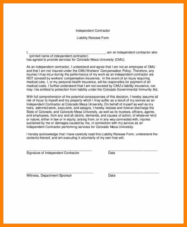 6+ liability waiver form | resign latter