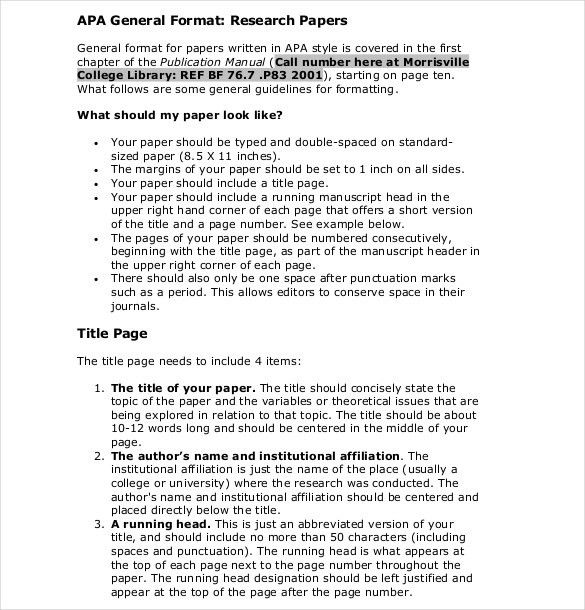 APA Cover Sheet – 10+ Free Word, PDF Documents Download! | Free ...