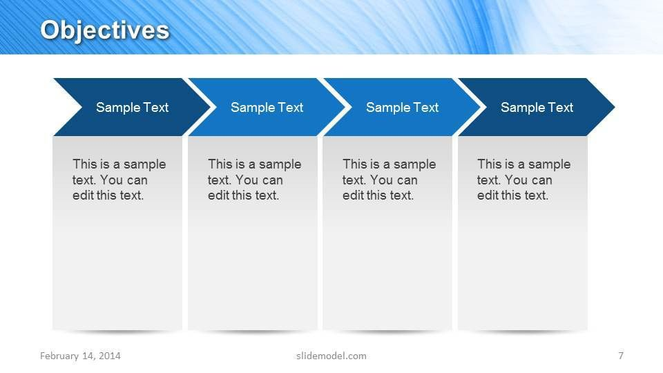 Blue Marketing Plan Template for PowerPoint - SlideModel
