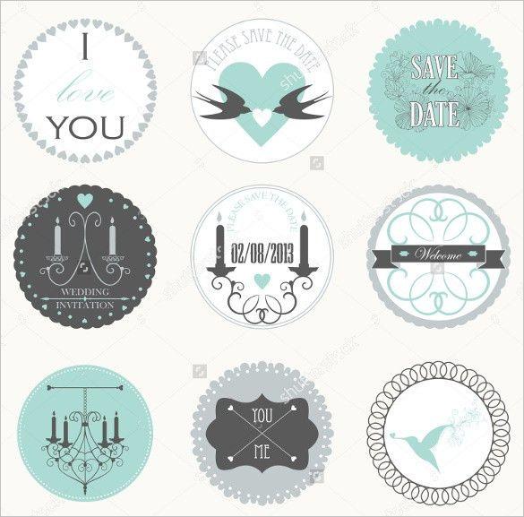 21+ Wedding Sticker Templates – Free Sample, Example, Format ...