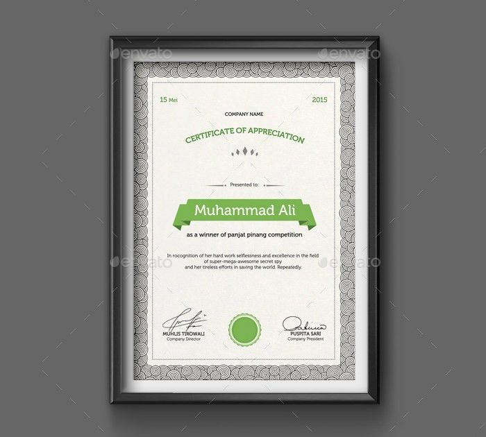 38+ PSD Certificate Templates – Free PSD Format Download! | Free ...