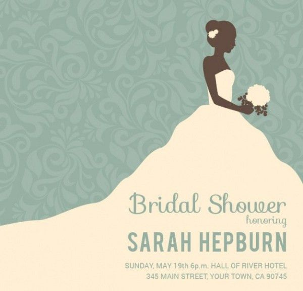 21+ Bridal Shower Invitations - PSD, Vector EPS, JPG Download ...