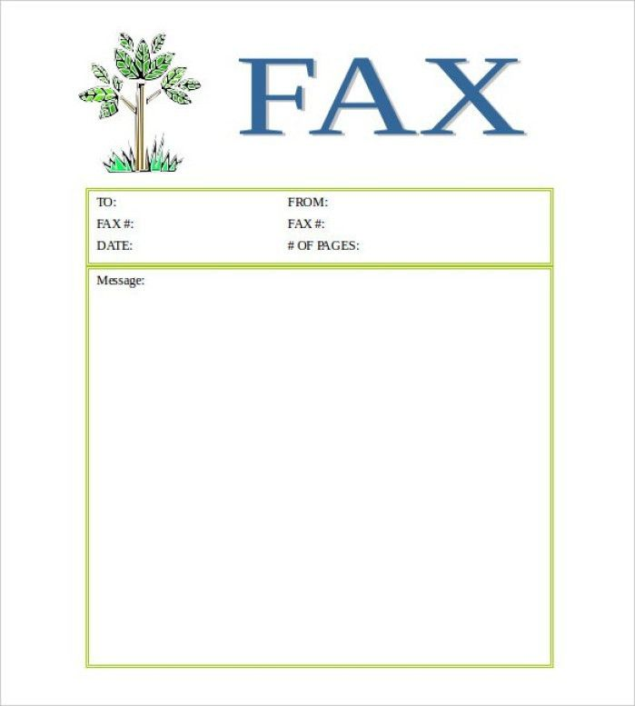 Free Cover Fax Sheet