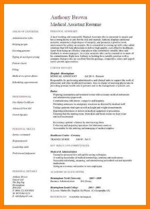 8+ medical assistant sample resume | packaging clerks