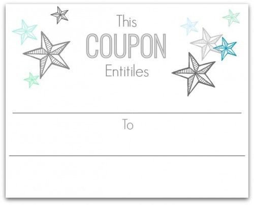 Create your own voucher template free online gift certificate make your own christmas coupons free printables home is where yadclub Images