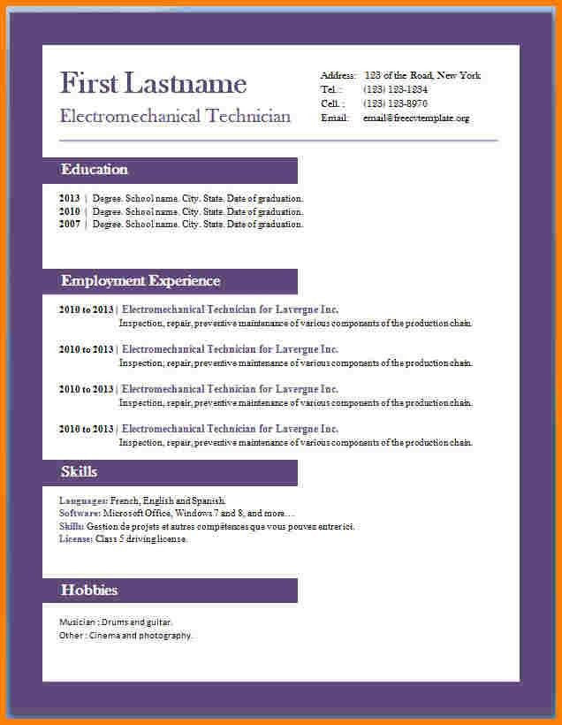 6+ resume format pdf download free | inventory count sheet
