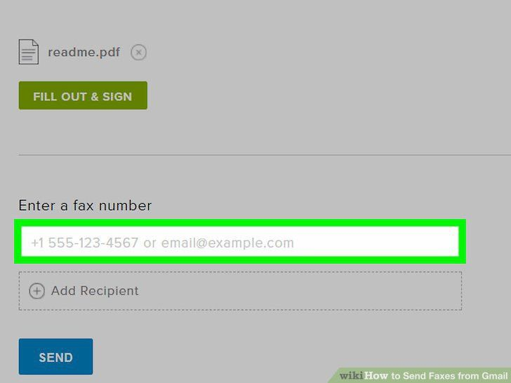 The Easiest Way to Send Faxes from Gmail - wikiHow