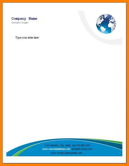 10+ free letterhead templates word | resume language