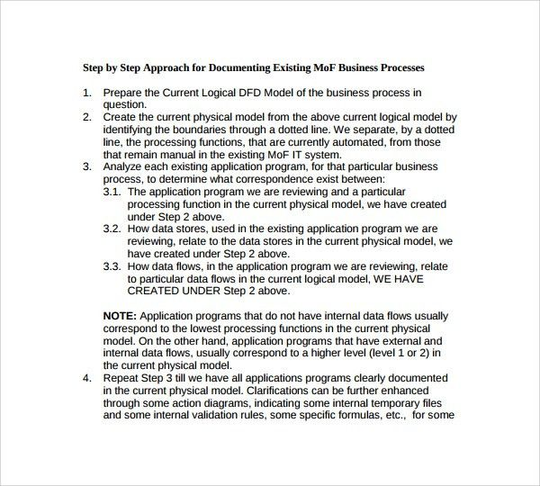Sample Process Manual Template - 7+ Free Documents in PDF