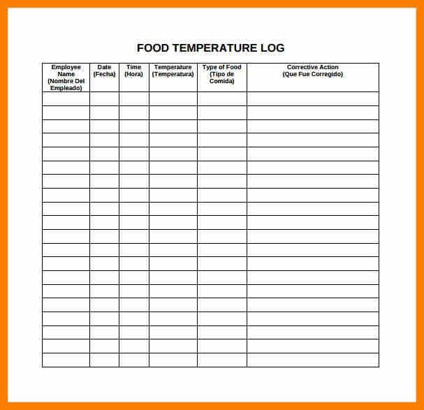 6+ sample food diary template | science-resume
