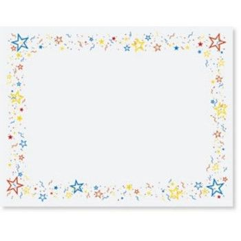 star certificate border - Google Search | certificates | Pinterest ...