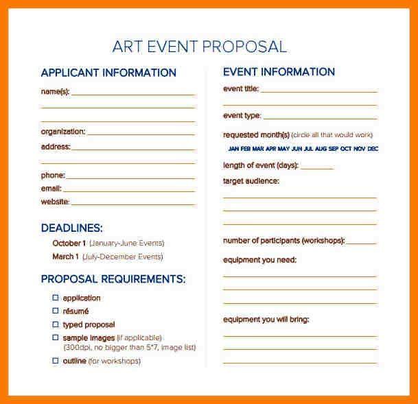 7+ event proposal sample doc | park-attendant