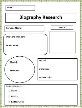 Best 10+ Biography project ideas on Pinterest | Biography, My ...