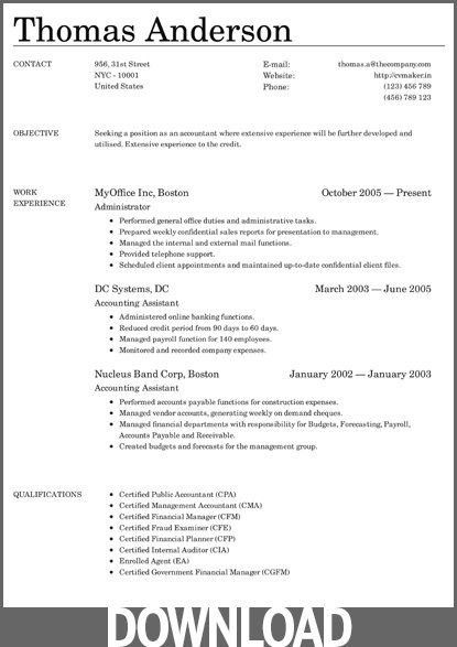 Ms Office Resume Templates. Student Resume Templates Student ...