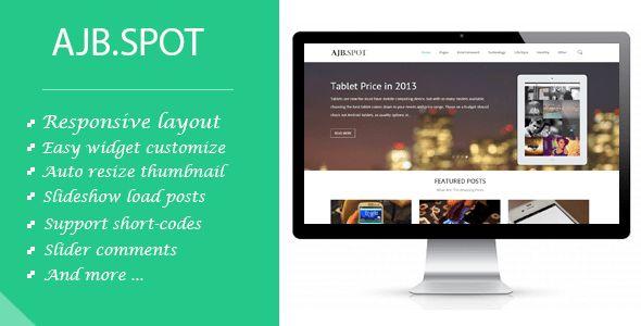 Ajbspot | Responsive MultiPurpose Blogger Template by minhanh ...