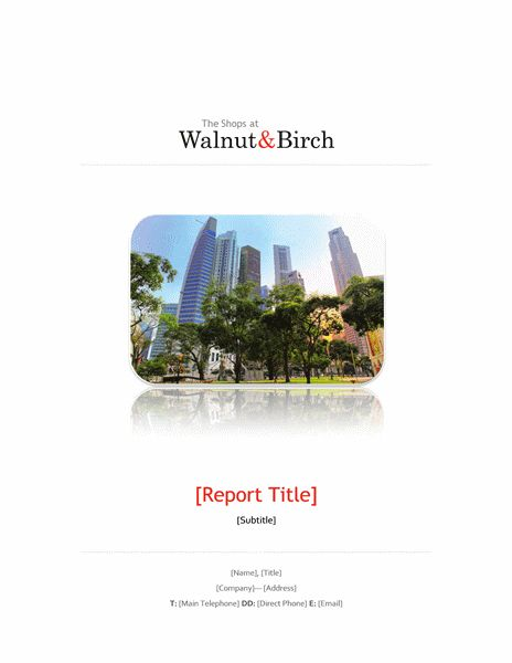 Business report (6 pages) - Office Templates