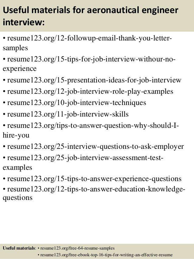 Download Aeronautical Engineer Sample Resume ...