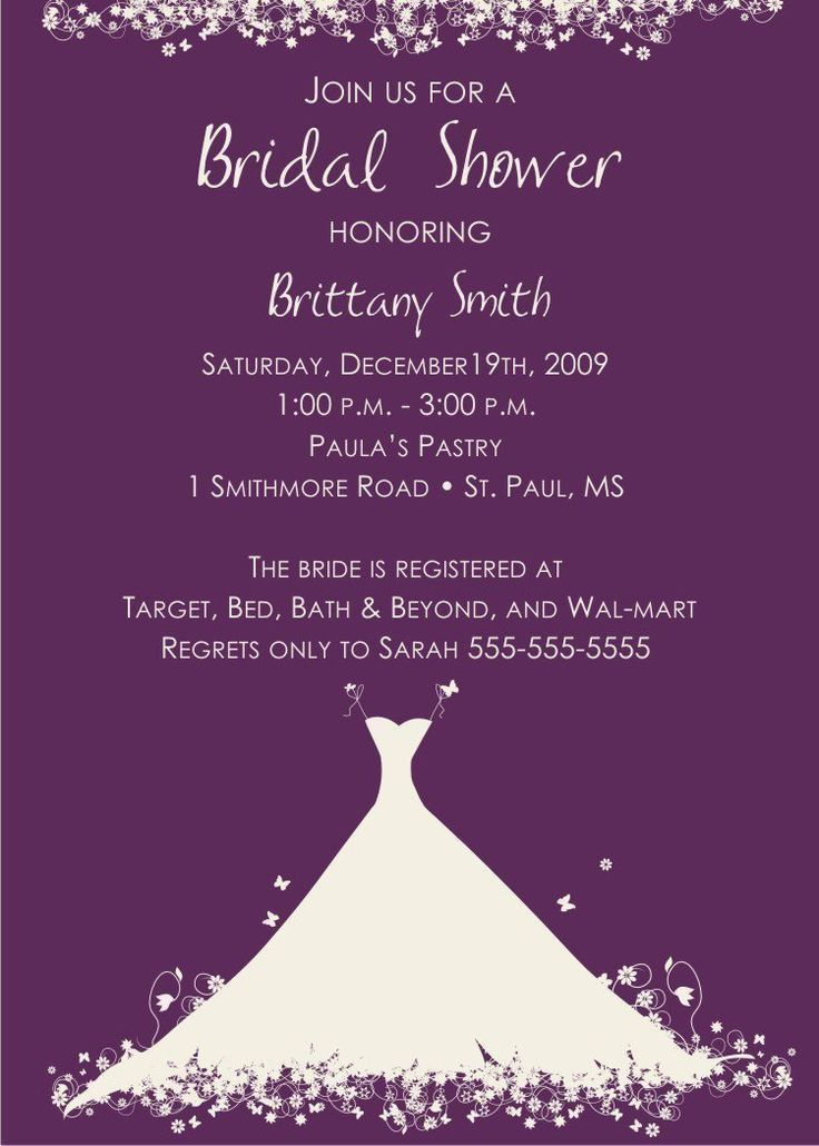149 best bridal shower invitations images on Pinterest | Bridal ...