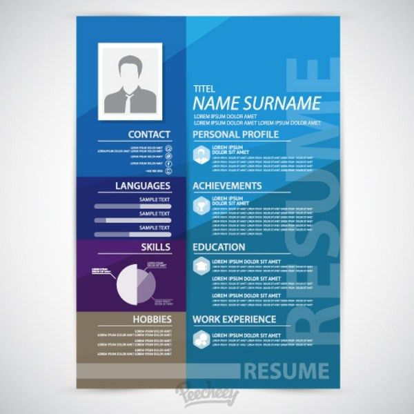 Resume free vector download (23 Free vector) for commercial use ...