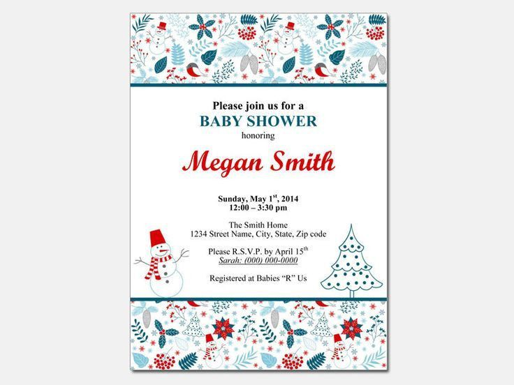 The 25+ best Free baby shower invitations ideas on Pinterest ...