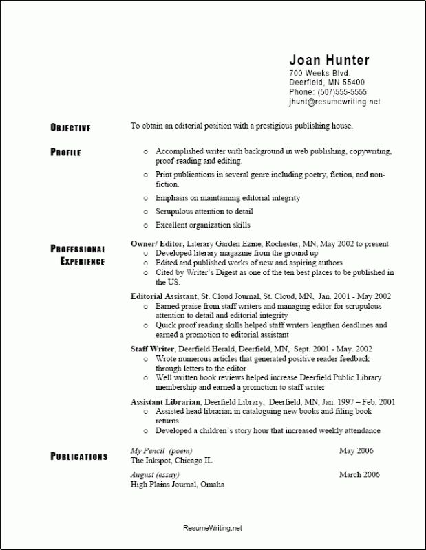Exclusive What Is The Best Resume Format 1 Formats - CV Resume Ideas
