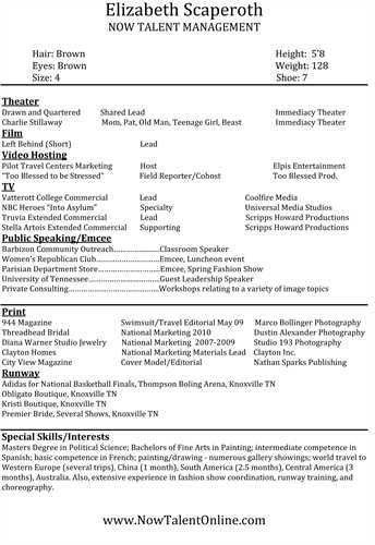 proper acting resume format. 42 best best engineering resume ...