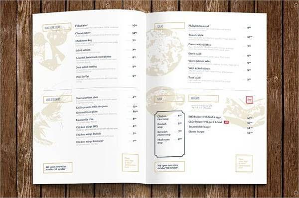 9+ Hotel Menu Templates - PSD, Vector EPS, AI Illustrator Download ...