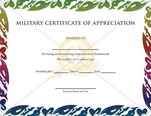 20 best Appreciation Certificate images on Pinterest | Certificate ...